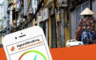 Digital bilförsäkring kommer till asien