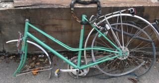 Stulen cykel